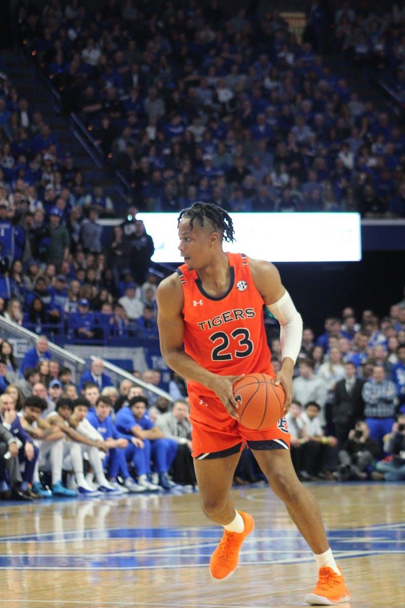 Isaac Okoro (23) during Auburn at Kentucky on Feb. 29, 2020, in Lexington, Ky.