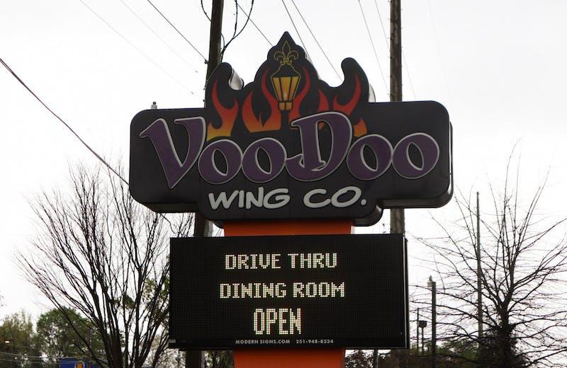 VooDoo Wing Co. wins best wings for Plainsman's Choice 2021 on Mar. 28, in Auburn, Ala.
