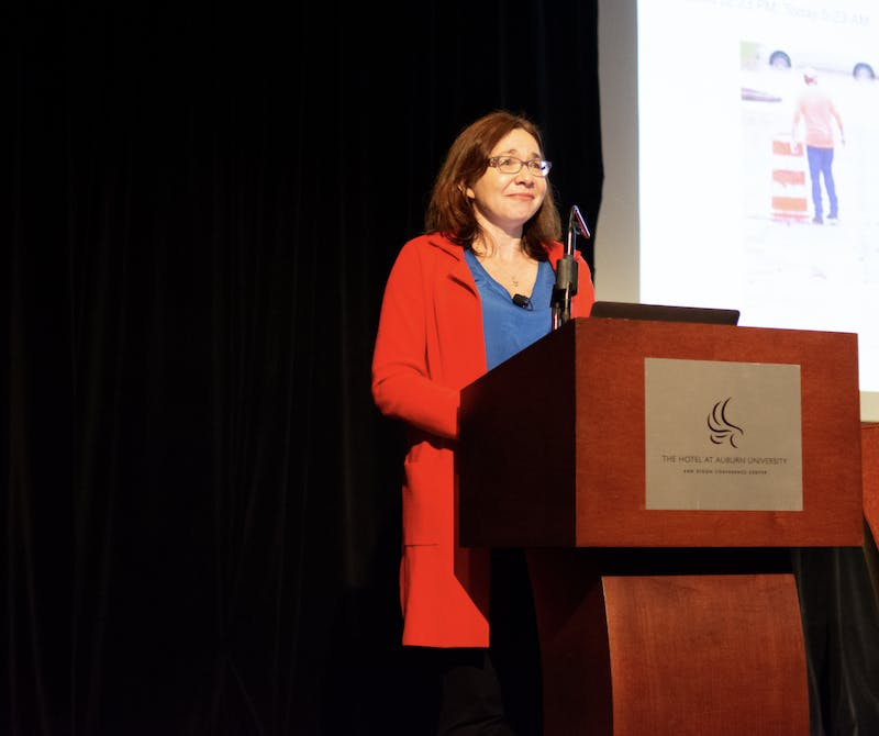 Katharine Hayhoe, an evangelical Christian and world-renowned climate scientist, recently visited campus.