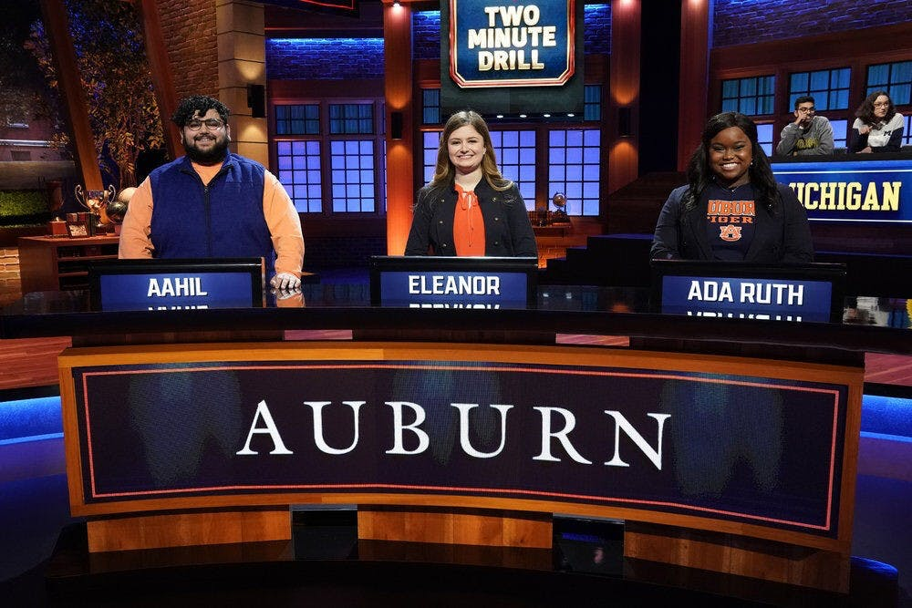 Auburn to compete in NBC's 'College Bowl' Tuesday night