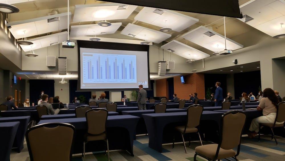 SGA Senate addresses provost vote, campus dining issues