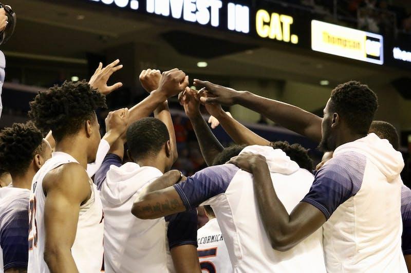 Auburn Men's Basketball during the Auburn vs. South Carolina game on Wednesday, Jan. 22, 2020, in Auburn, Ala.