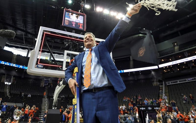Bruce Pearl. Auburn men's basketball vs Kentucky during the NCAA Midwest Regional final on Sunday, March 31, 2019, in Kansas City, Mo.