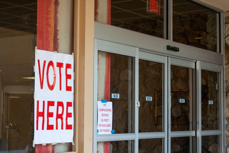 Polls open in Auburn for a U.S. Senate Special Primary election on Aug. 15, 2017.