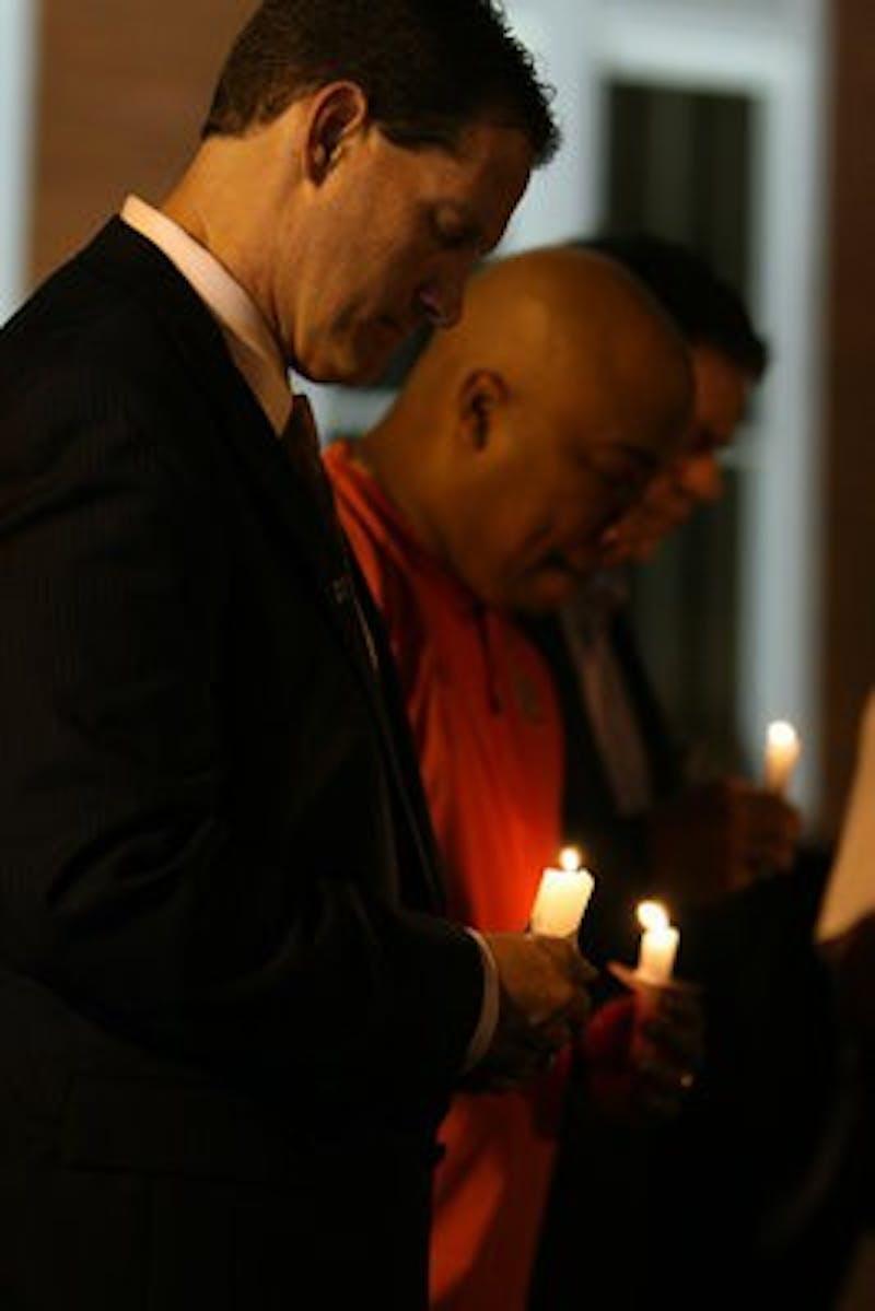 Images that speak for themselves: Samford Hall vigil 06/14/2012