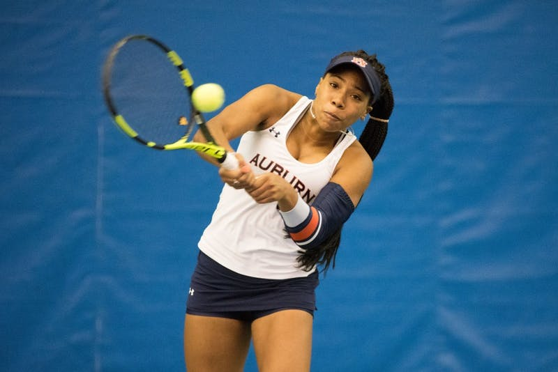 GALLERY: Auburn Women's Tennis vs. Tulane | 1.27.18
