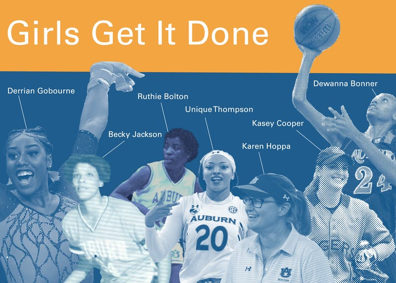 Women have been excelling in athletics since Auburn University finally made a commitment to women's athletics in the 1970s.
