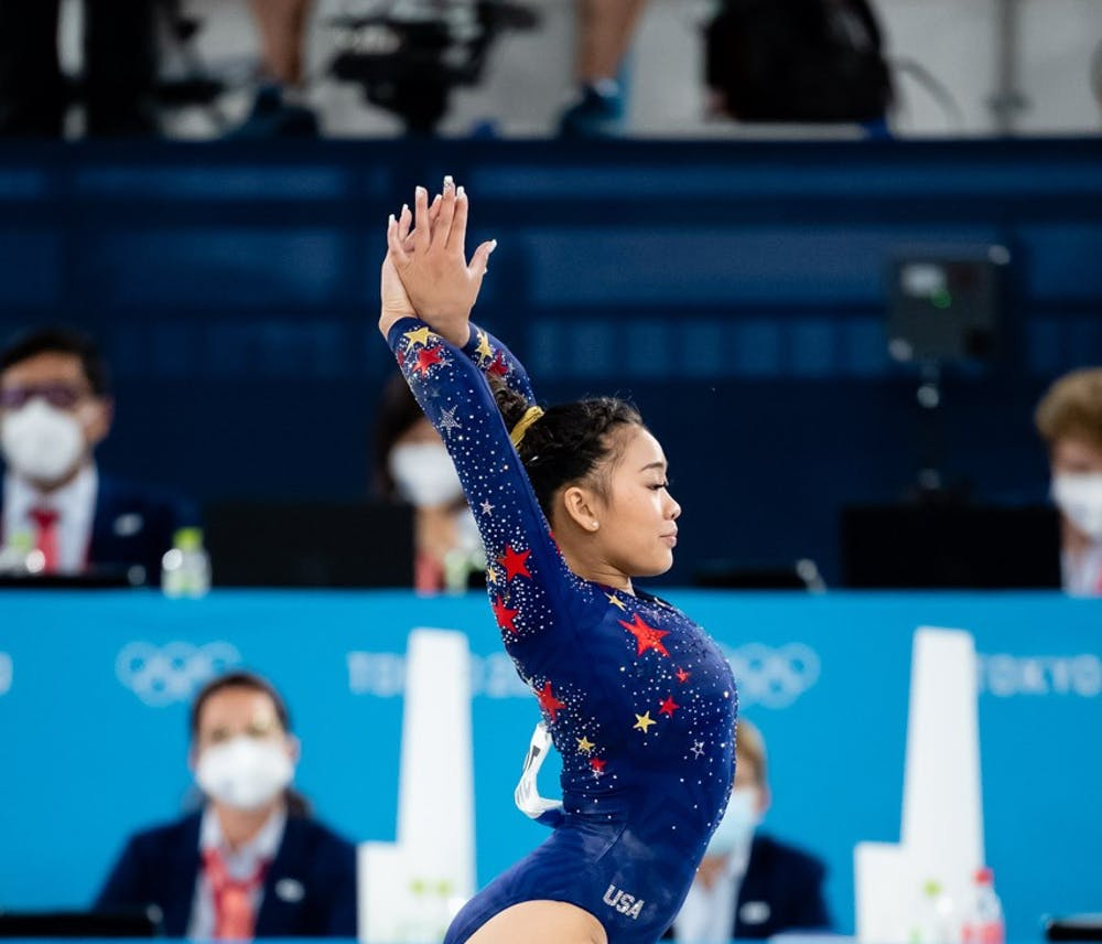 Sunisa Lee wins gold in individual all-around