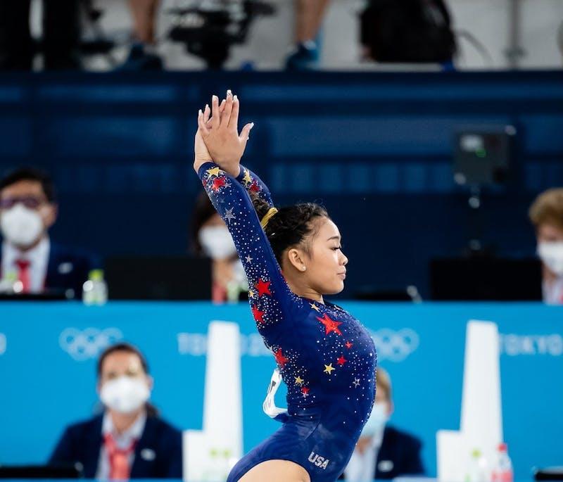 Sunisa Lee (USA) Photo via: USA Gymnastics/John Cheng.