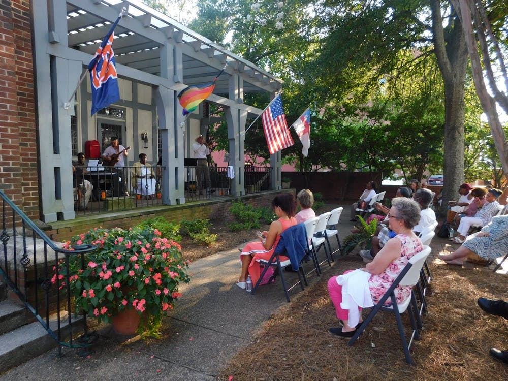Local church puts musicians back on stage with outdoor music series