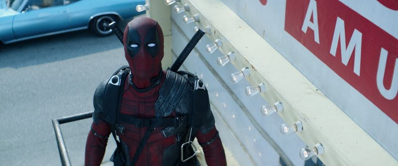 "Ryan Reynolds stars as Deadpool in ""Deadpool 2."" (Twentieth Century Fox)"