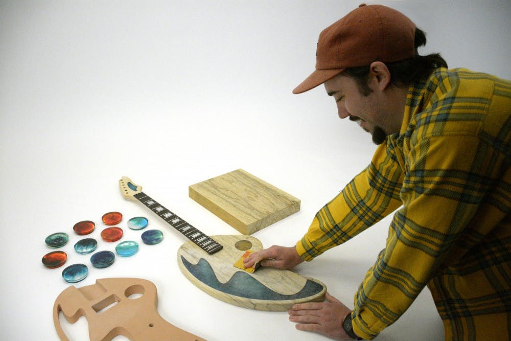 Industrial design to host FretHaus Guitar Show to showcase work of industrial design class
