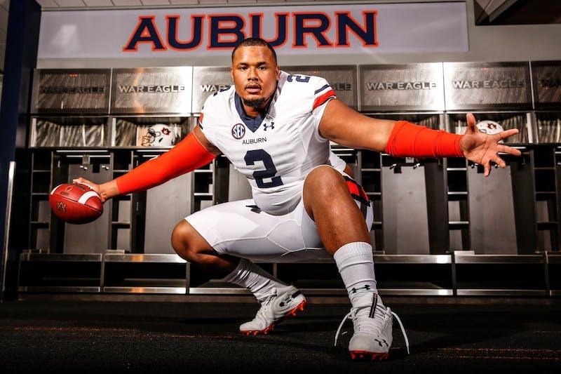 Auburn signee Marquis Burks via Auburn Recruiting Twitter (@AuburnA1).