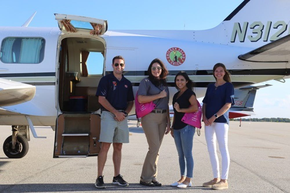 Auburn's Women in Aviation encourages girls to soar to new heights