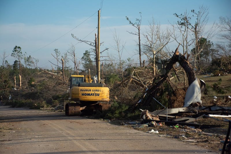 Photos show the extent of the damage caused by an EF-4 tornado that ravaged a community near Beauregard, Alabama, on March 3, 2019. At least 23 people are dead.