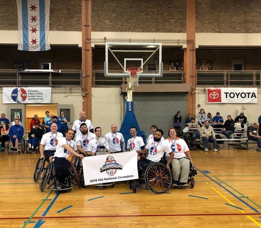 Wheelchair basketball team crowned national champs