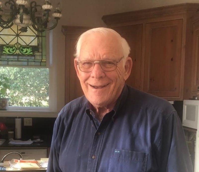 Jimmy Reece in his home in Ozark, Ala.