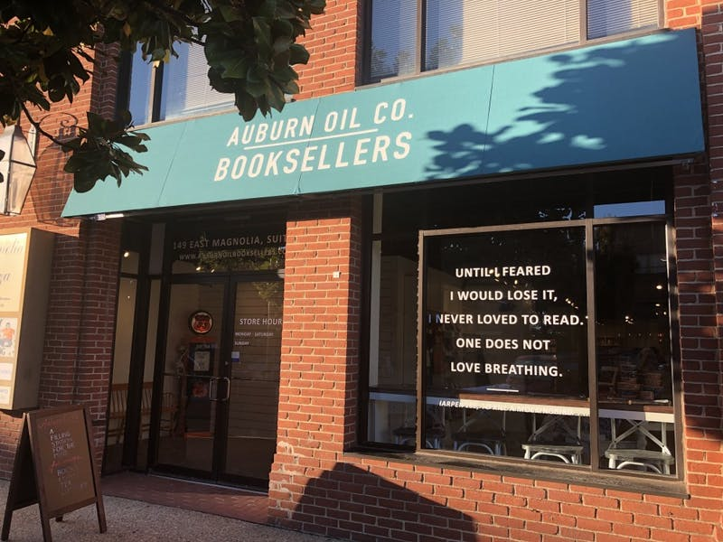 Auburn Oil Co. Booksellers opened on Sat., Oct. 26, 2019.