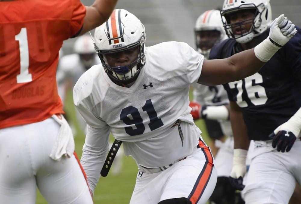 Auburn DL Nick Coe wants to be the next Khalil Mack