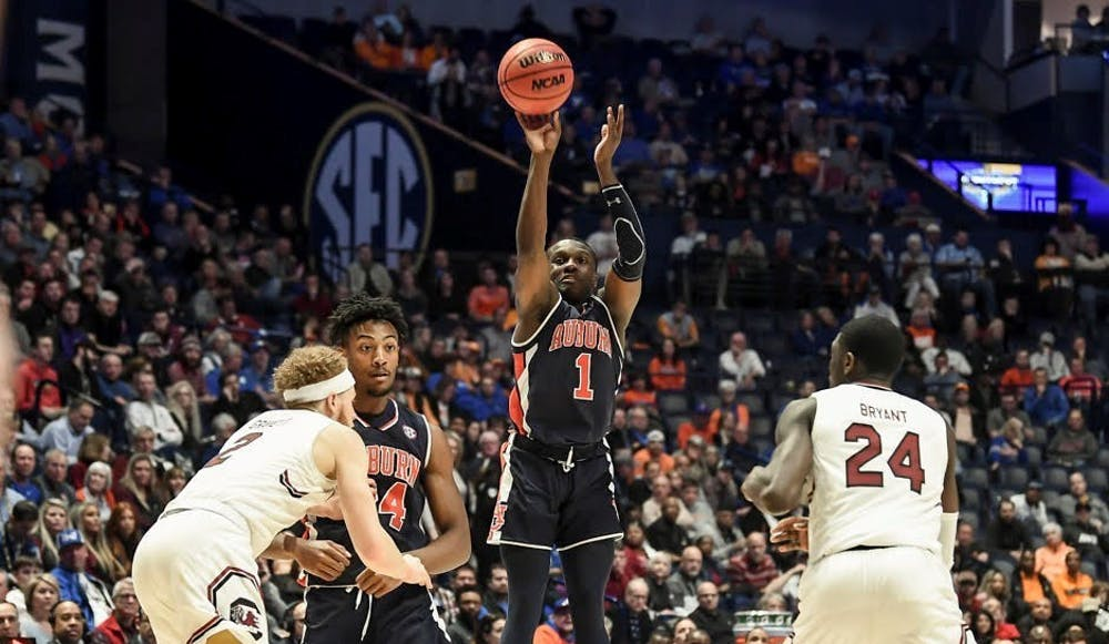 Jared Harper takes the reins as Auburn advances to SEC semifinals