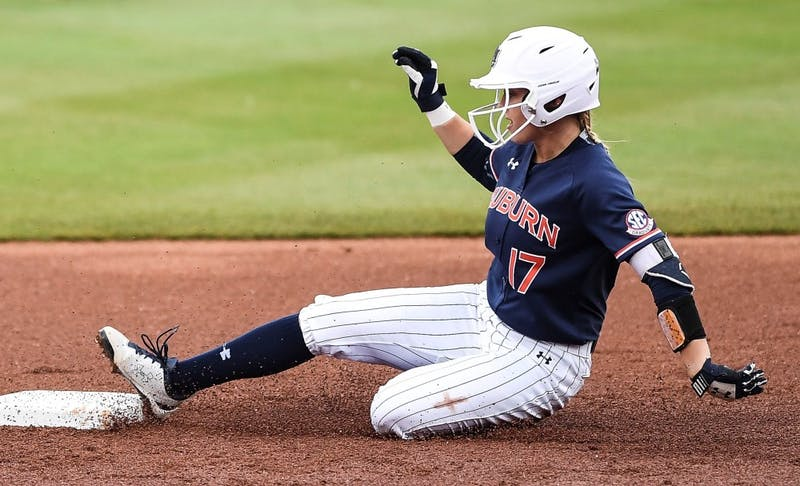 Morgan Podany (17). Softball vs Florida during the SEC Tournament on Friday, May 10, 2019, in College Station, TX.