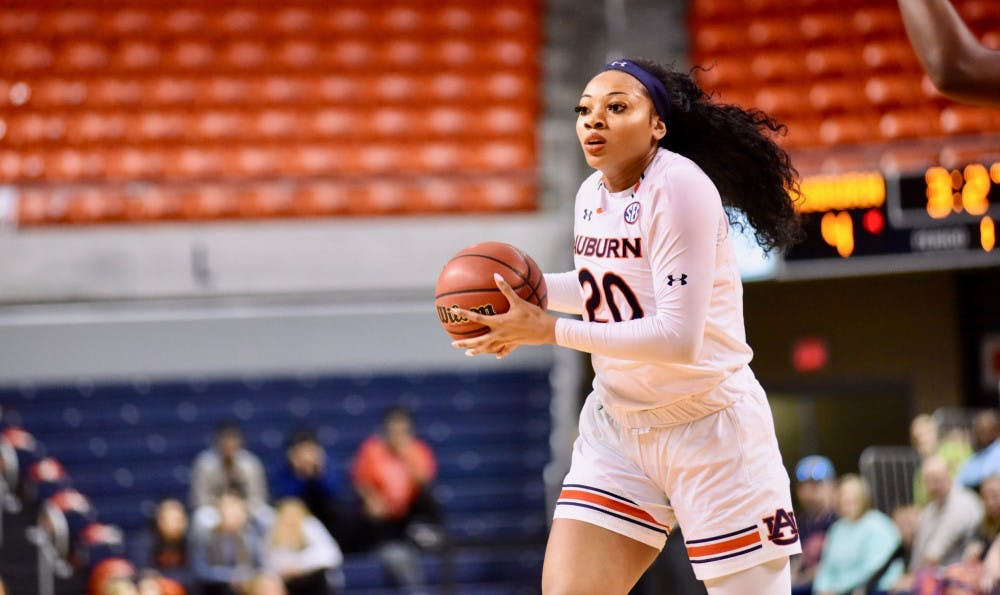 Auburn's Unique Thompson named SEC Player of the Week