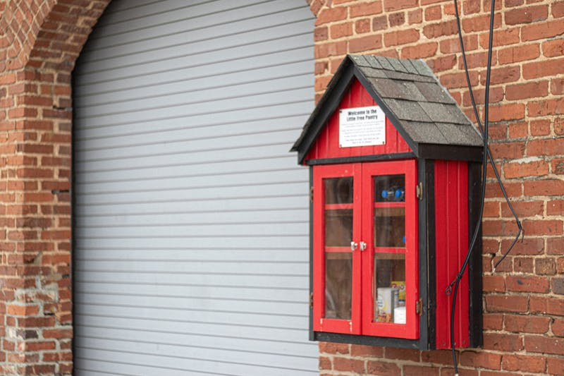 The Little Free Pantry in downtown Opelika was established to be open to all in the community.