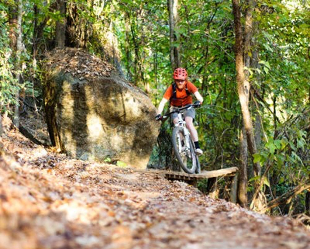 Mountain biking continues to grow in Auburn despite summer heat