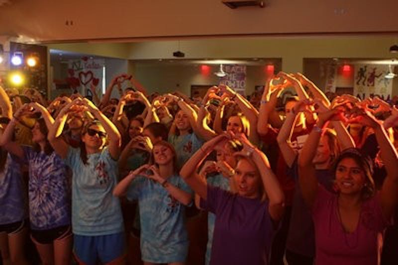 AU Dance Marathon raised $65,995.25 this year for the Children's Miracle Network.