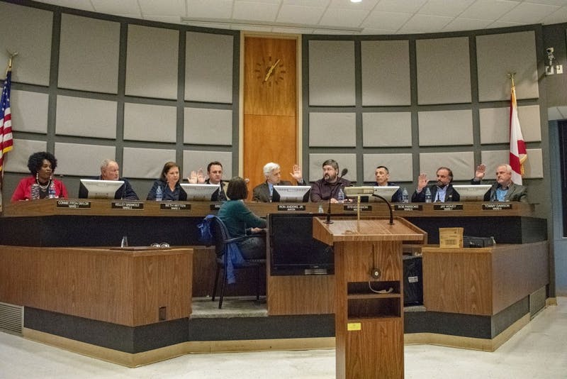 City council votes for new Board of Education member by show of hands