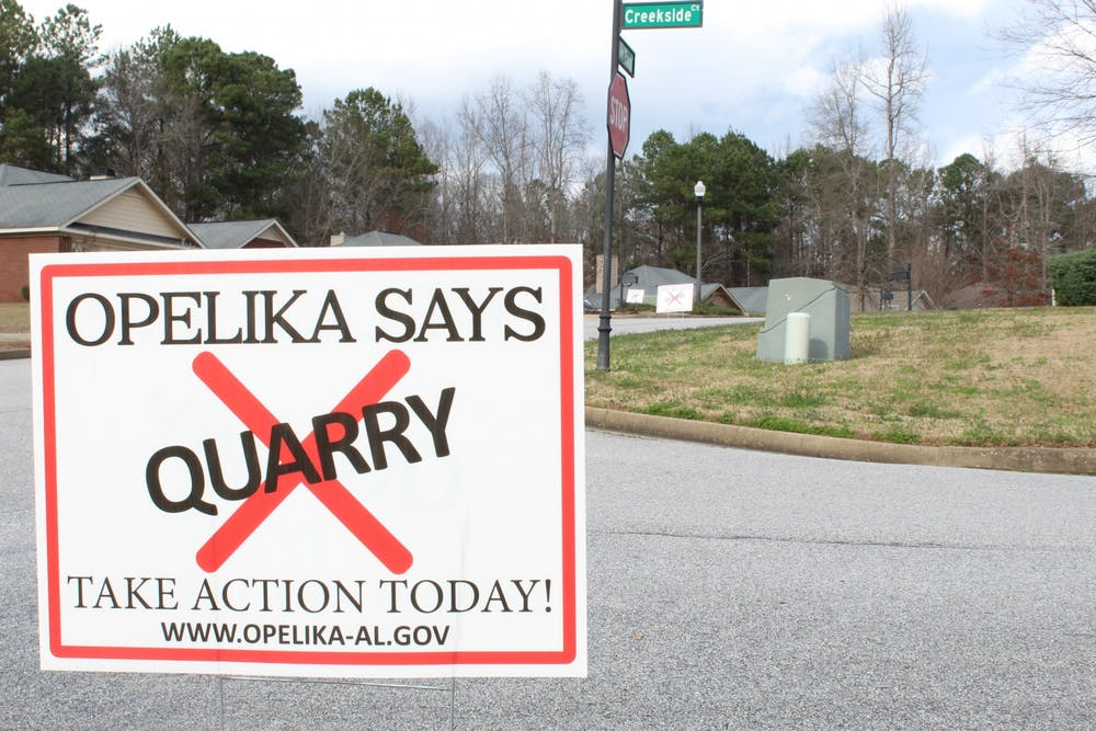 EDITORIAL| Nothing to gain from quarry in Lee County