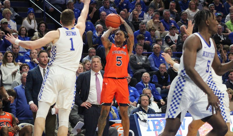 GALLERY: Auburn Basketball at Kentucky | 2.28.20