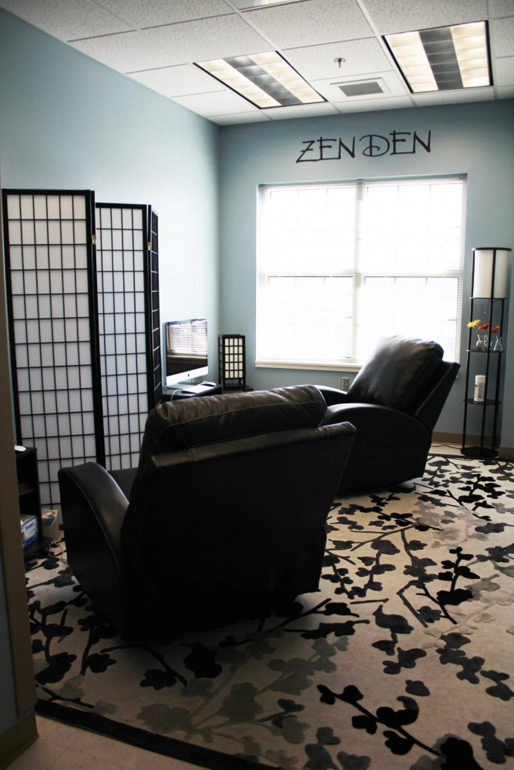 Student Counseling Services offers Zen Den