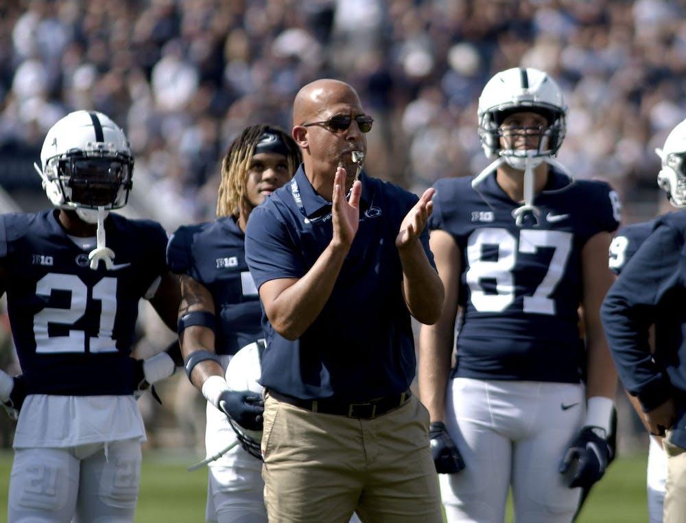 What Penn State head coach James Franklin said about Auburn