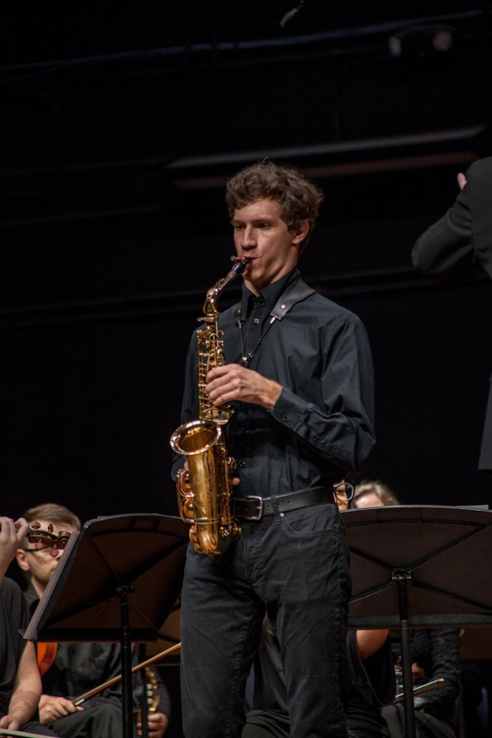 Saxophone soloist, quartet qualify for regional competitions
