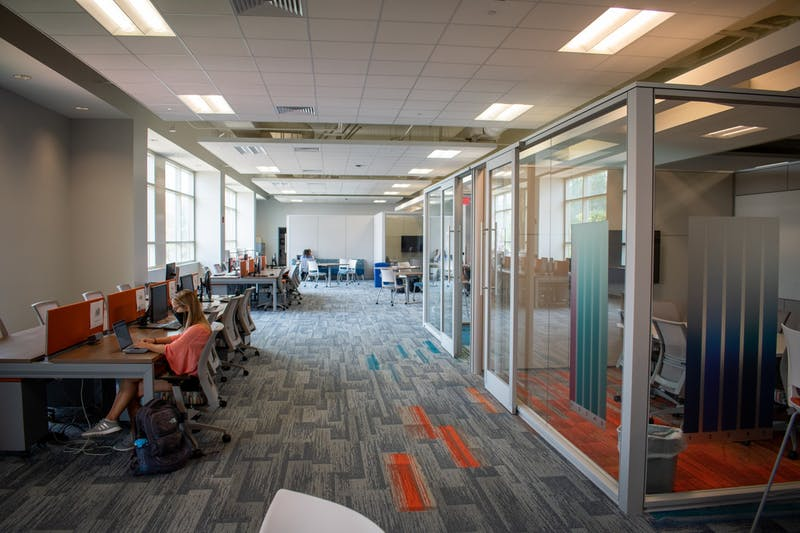 The newly renovated Student Involvement Suite on Monday, Aug. 17, 2020, in Auburn, Ala.