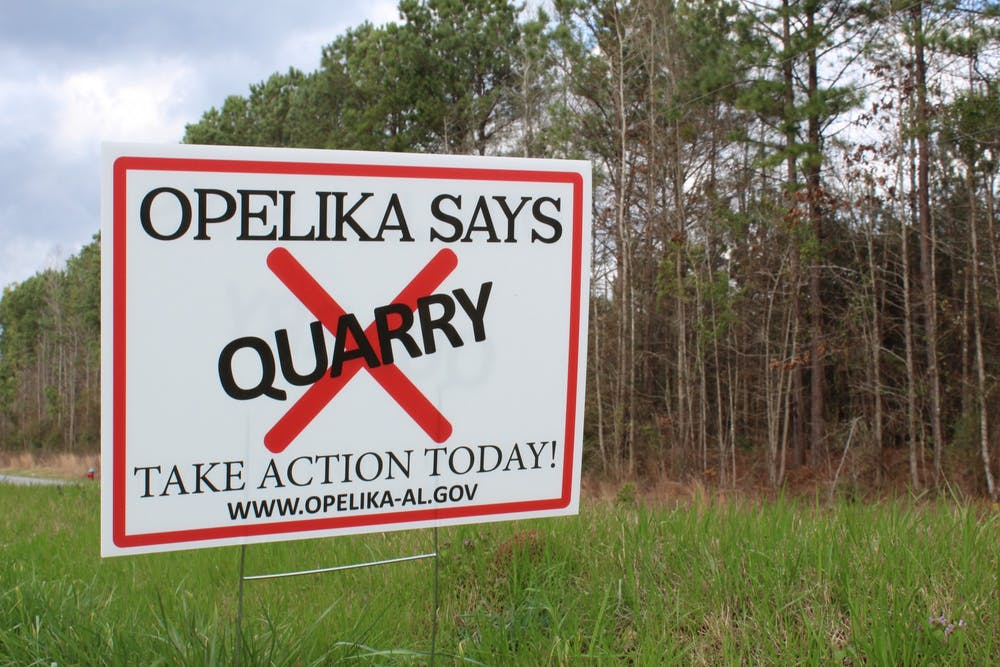 Auburn supports Opelika's stance against possible quarry