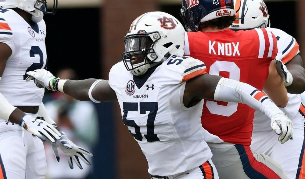 Auburn's Deshaun Davis, Derrick Brown named All-SEC by AP, coaches