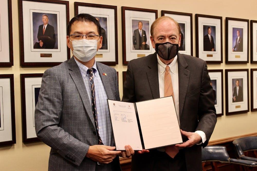 National Cheng Kung University partners with Auburn University
