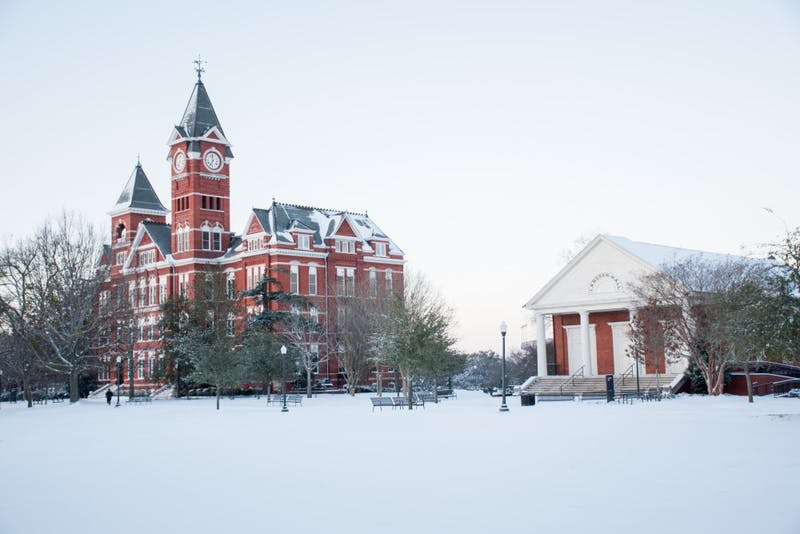 GALLERY: Auburn Snow Day | 1.17.2018