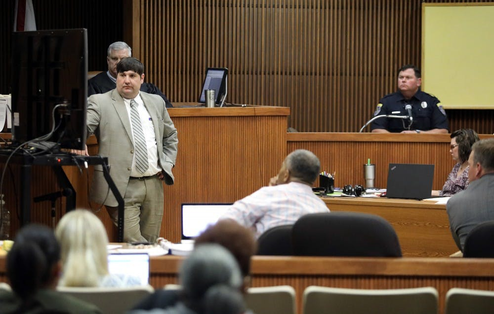 UPDATE: Victim testifies after opening statements in Tiger Transit rape case