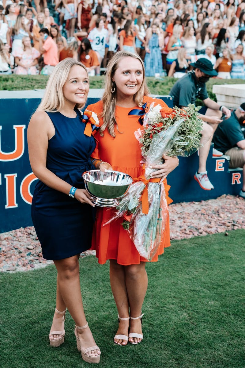 Lady Frances Hamilton becomes Auburn's Miss Homecoming on Sept. 21, 2021.