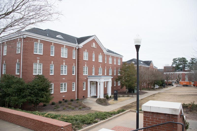 The Quad residence halls on Friday, Feb. 9, 2018, in Auburn, Ala.