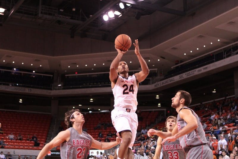 Auburn men's basketball kicked off its season with a 108-57 win in an exhibition match against Victory University Tuesday night.