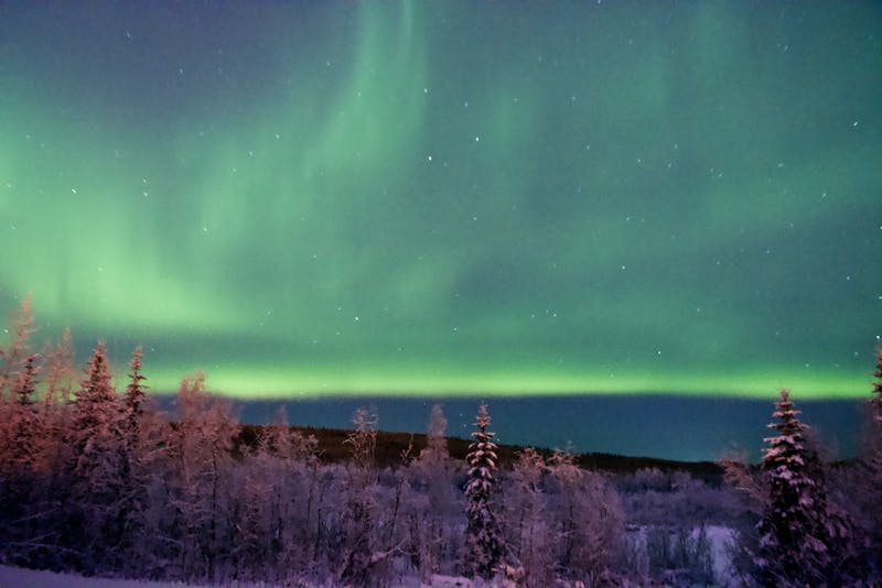 Plainsman photographer Joshua Fisher captures the Aurora Borealis in Alaska.
