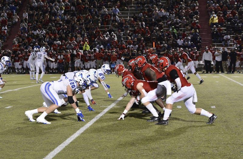 Auburn High faces off against Opelika on Friday, Aug. 27, 2021, in Auburn, Ala.