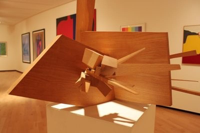 """""""Form, Line, and Color"""" is the most recent  exhibit at JCSM."""