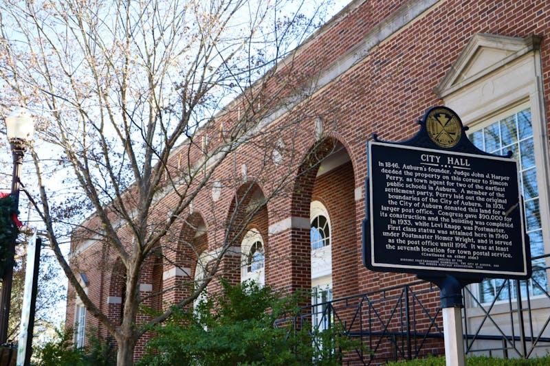 Auburn City Hall on Saturday, Nov. 9, 2019, in Auburn, Ala.
