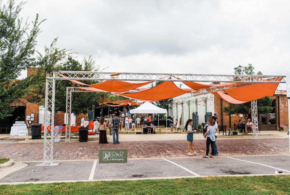 Concourse/south ends with daylong music festival