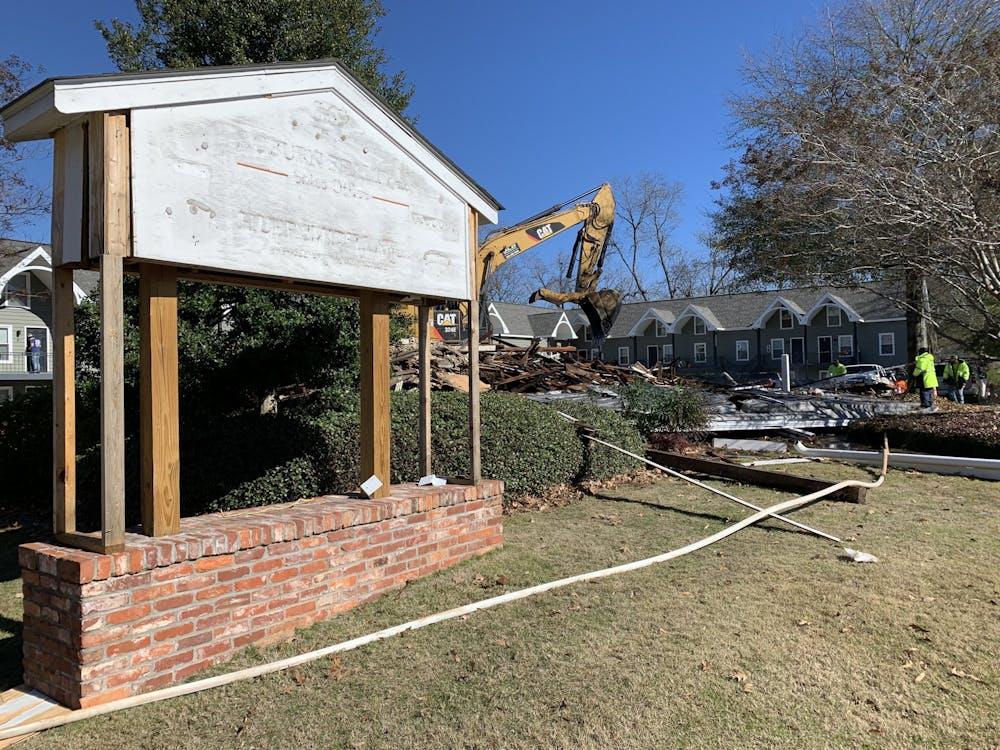Demolition begins on historic Cullars house